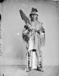 Kalkalshuatash or Jason - Pahoje (Nez Perse) chief, 1868