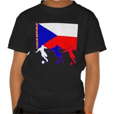 Shop Soccer Czech Republic T-Shirt created by nitsupak. Soccer Gifts, Czech Republic, Fitness Models, Football, Tees, Amazing, Casual, Mens Tops, T Shirt