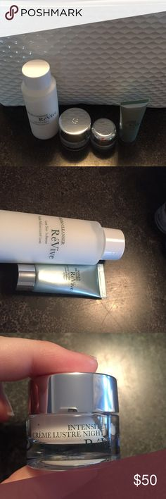 Revive 5 piece beauty bundle NWT never opened or used. Brand new. Free gift with purchase and fast shipping. Bundle and save 30 percent. Buy 4 get one free. Happy shopping Poshers :) revive Makeup