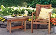 This rugged stuff can weather spilled drinks, sticky hands, and even harsh winters. Use it to make a versatile outdoor table that will last for years