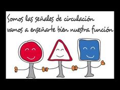 Las Señales de Circulación (Educación Vial Infantil) - YouTube Learn English, Transportation, Science, Learning, School, Videos, Youtube, Children's Literature, Infant Activities