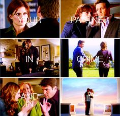 Your partner in Crime & in Life.- ( Castle & Beckett Vows )