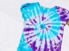 Easy Tie Dye Shirts for Girls