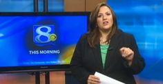 Essa apresentadora foi chamada de gorda… então ela resolveu responder ao vivo na TV.