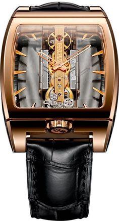 Corum Watch Golden Bridge Automatic- Watch Available to buy online. Stylish Watches, Luxury Watches, Unique Watches, Elegant Watches, Fine Watches, Watches For Men, Patek Philippe, Devon, Corum Watches