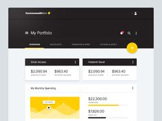 Commonwealth Bank's website is great don't get me wrong, but I have always thought their Netbanking would be the perfect candidate for a material design refresh.  Conceptual only, keen to hear your...