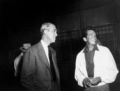 "Dean Martin visiting the set of ""The Man Who Knew Too Much"", 1956"
