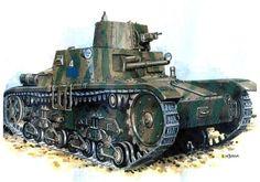 Fiat Ansaldo M11/39 Italian Tank