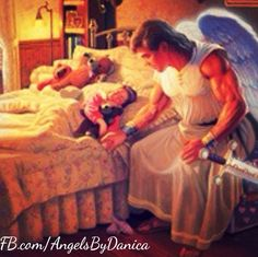 """Before going to sleep tonight, say: """"Archangel Michael, please enter my dreams and replace fear with faith and trust. Let me be filled with strength, courage, and confidence. Amen Facebook.com/AngelicHealingByDanicaLightworker"""