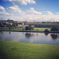 View from Inverleith Park, I'm so lucky to live where I do  Stockbridge Edinburgh