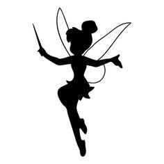 silhouette de fée clochette à imprimer - Recherche Google
