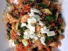 Kouskousový šalát Grains, Tacos, Chicken, Cooking, Ethnic Recipes, Food, Bulgur, Salads, Kitchen