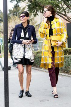 Paris Fashion Week F / W 2015: street style. Part 7 (13 photos)