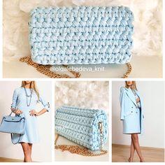 Diy Crochet Bag, Crochet Clutch, Crochet Handbags, Crochet Purses, Knit Or Crochet, Cute Crochet, Crochet Stitches, Handmade Purses, Handmade Handbags