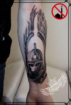 Polish Winged Hussar tattoo