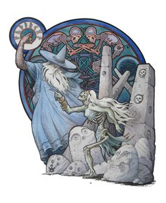 Dmitrij Ilyutkin | Odin resurrects the Volva