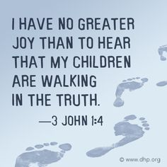 """""""I have no greater joy . . ."""" - Discovery House Publishers"""