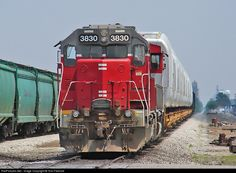 RailPictures.Net Photo: TPW 3830 Toledo, Peoria & Western EMD GP38 at Wolcott, Indiana by Tom Farence