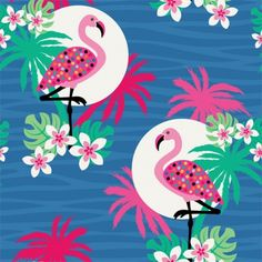 Daisy Beatrice | Make it in Design | Surface Pattern Design | Summer School | Tropical Paradise