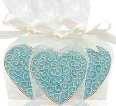 Wedding Cake Cookies | Delectable Wedding Cookie Favors | Here Comes The Blog