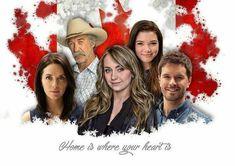 Heartland: Jack Bartlett, Lou Fleming, Georgie Fleming Morris Ty & Amy Borden