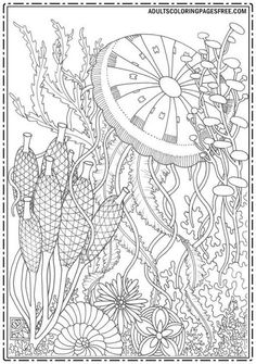 19 Best Nature Coloring Pages For Adults Images Coloring Pages