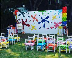 Resultado de imagen para fiesta tematica de pintura