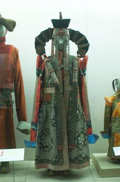 Khalkh Mongol woman's costume (should look very familiar to Star Wars fans) - How like a cow you look today