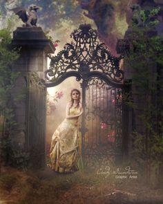 The mystery of a gate @Ann Flanigan Flanigan Flanigan Rought
