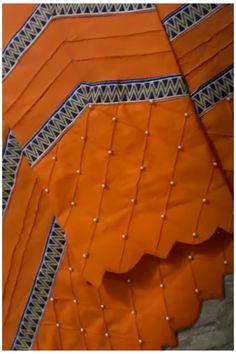 Kurti Sleeves Design, Kurta Neck Design, Sleeves Designs For Dresses, Dress Neck Designs, Stylish Blouse Design, Fancy Blouse Designs, Stylish Dress Designs, Stylish Dress Book, Stylish Dresses