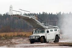 Abaim-Abanat special police assault vehicle based on GAZ-233034 SPM-1 vehicle