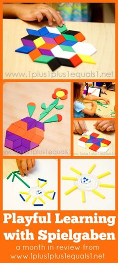 Playful Learning with #Spielgaben ~ September 2014 from @1plus1plus1
