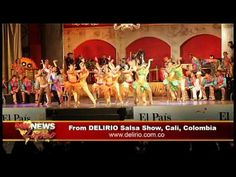 Expected nothing less from Colombians! Michael Jackson Latin Salsa Tribute from Delirio in Cali, Colombia   with Lili Gil FOX NEWS