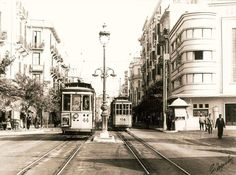 the old tram in greece Thessaloniki, Greece, Old Things, Street View, Brain, Greece Country, The Brain