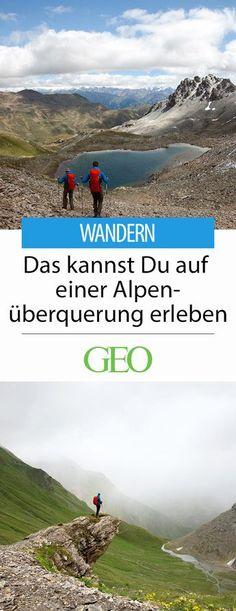 Wandern in den Alpen: Die Alpen zu Fuß zu überqueren, ist nach wie vor eine Herausforderung. Keine unüberwindliche, aber eine, die auch trainierte Wanderer an ihre Grenzen bringen kann. Ein Team mit GEO-Lesern hat sich, organisiert vom Outdoorausrüster Mammut und begleitet von GEO-Redakteur Jörn Auf dem Kampe, in die Höhenlage begeben: auf eine der grandiosesten Bühnen unseres Kontinents