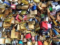 Bruno Julliard, the Paris' first deputy mayor, has recently announced that around 10 tonnes of the locks will be sold off to members of the public with the proceeds being sent in the form of much needed aid to the refugee groups. Love Locks Paris, Affair, Public