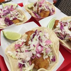Give us perfectly made fish tacos or give us nothing. #fish #tacos #catering #fishtacos