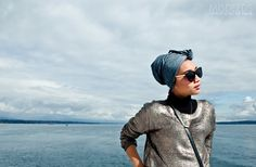 Beautiful view behind the beautiful woman #yunazarai #sky #bluesea