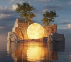 Moon Photography, Amazing Photography, Art Et Nature, Really Cool Photos, Cool Backgrounds Wallpapers, Stay Wild Moon Child, Beautiful Moon, Fantasy Landscape, Nature Pictures