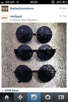 Tinted Sunglasses by nastygal