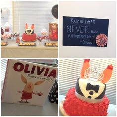 Olivia the Pig Party #oliviathepig #party