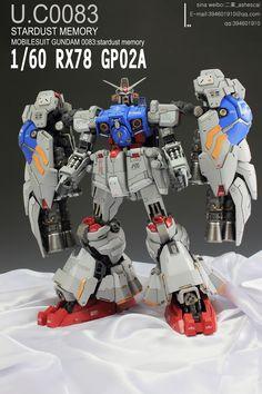 1/60 RX-78 Gundam GP02A Physalis - Painted Build