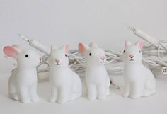 Adorable woodland rabbit party string lights - My Little Fashion Creation, tienda de decoración infantile online www.mylittlefashioncreation.com
