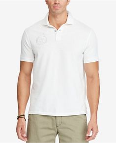 Polo Ralph Lauren Men's Big & Tall Classic-Fit Souvenir Cotton Polo Shirt