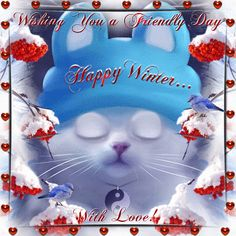 Winter 21st Dec-March 19th/Happy Winter section. Send this ecard to anyone this winter with love. Permalink : http://www.123greetings.com/events/winter/wishes/with_love_46.html