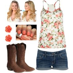 country outfit--would wear to the fair :)