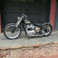 The look I want to my Honda Bobber I'm goi. to build