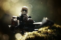 Over the years, Vesa Lehtimäki (aka Avanaut) has been shooting pictures of his kid's toys. When he started taking pictures of Star Wars action figures and Star Wars Lego, it struck a chord. Lego Star Wars, Star Wars Toys, Star Wars Art, Indiana Jones, Jouet Star Wars, Gi Joe, Lego Photography, Photography Series, Movies