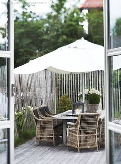 willow or bamboo fencing as inexpensive temporary privacy on deck?