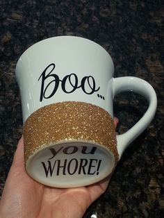 Personalized Coffee Cup * Personalized Gift Mug * Coffee Cup * Boo You Whore * Coffee mug * Personalized Coffe mug * Mean Girls by SimplyChicBoutique74 on Etsy https://www.etsy.com/listing/216655562/personalized-coffee-cup-personalized